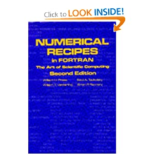 Amazon.com: Numerical Recipes in Fortran: The Art of Scientific ...