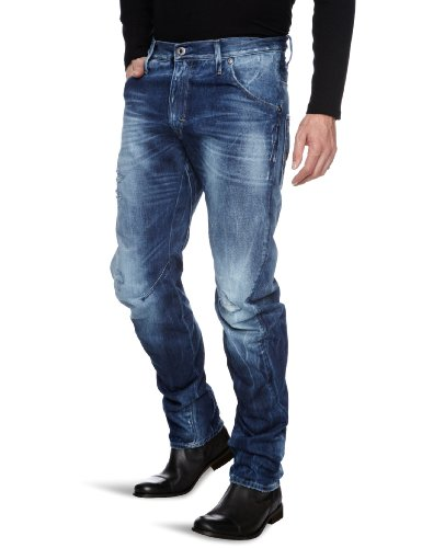 G-Star Arc 3D Loose Tapered Men's Jeans Rugby Destroy W28INxL32IN