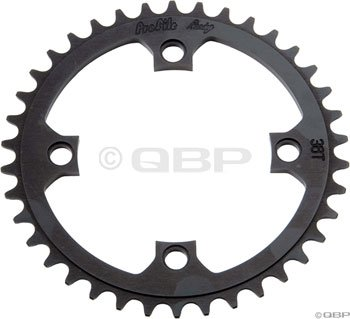 Profile Racing 40t 104mm Black Chainring