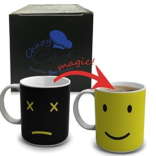 magic-morning-coffee-mug-yellow-12-oz-heat-sensitive-color-and-face-changing-ceramic-tea-cup-by-chuz