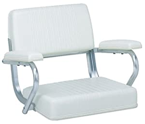 Buy Garelick Pilot Seat Poly Frame-White by Garelick