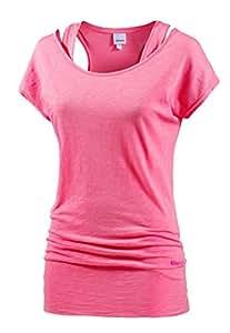 Bench Damen 2-in-1 Shirt rosa XS