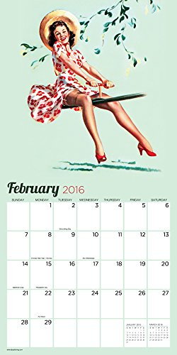 Pin Ups 2016 Calendar