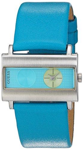 Montre Mixte Guess Quartz - Affichage Analogique bracelet Cuir Multicolore et Cadran Multicolore 60391L3