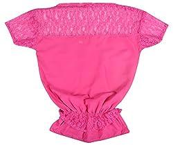 KALYANI CREATIONS Women's Top (Pink, Large)