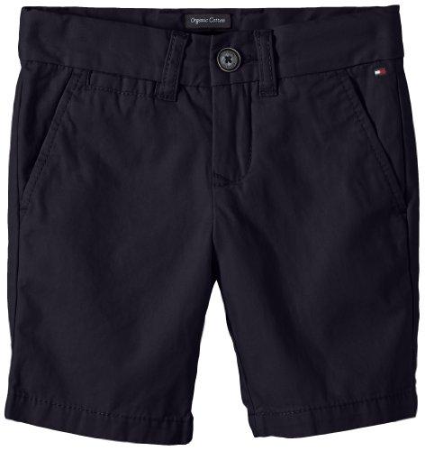 Tommy Hilfiger Mercer Chino Short Bto-Pantaloncini Bambina    blu 12 anni
