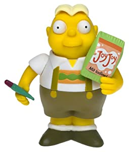 Simpsons - World of Springfield Interactive Figure - Series 8 - Uter w/custom accessories
