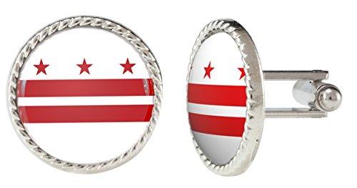Washington-DC-District-Of-Columbia-Flag-Cuff-Links