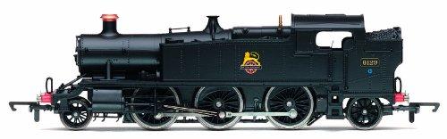 Hornby R3110 BR 2-6-2T Prairie '6129' Class 61XX - BR Black 00 Gauge Steam Locomotive