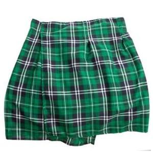 Unisex St. Patrick's Day Plaid Kilt