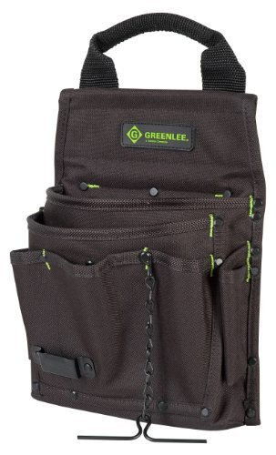 Greenlee 0158-17 Tool Caddy With Pouch, 7 Pocket by Greenlee (Greenlee Tool Caddy compare prices)
