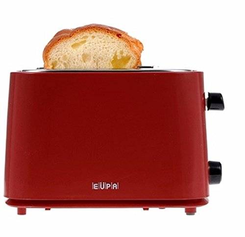 EUPA. Toasters. Pop- Up Toasters. Bagel Toaster. Sandwich Toaster. High-Lift Lever. TSK-2569. Red. (Russell Hobbs Toaster 4 Slice compare prices)