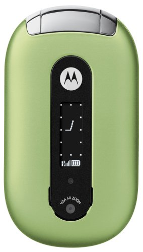 Motorola PEBL U6 Unlocked Cell Phone with Video Player/Recorder--International Version with No Warranty (Celery Green)