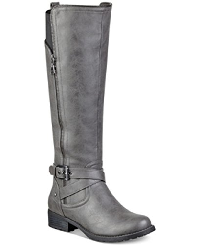 G by Guess Halsey Riding Boots Womens Shoes, Grey