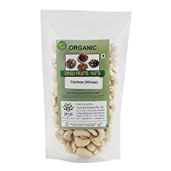 Arya Farm Organic Cashew (Whole)(200g)