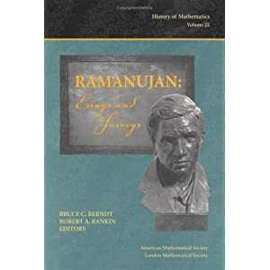 Ramanujan: Essays and Surveys (History of Mathematics, V. 22)