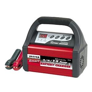 Amazon Com Vector Vec1088a Smart Battery Charger 2 6 12