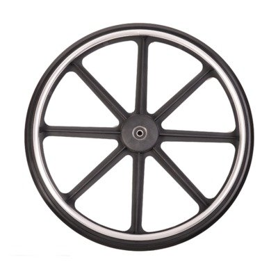 Medline WCA806946 K4 Wheelchair Rear Wheel Assembly W/Hand Rim