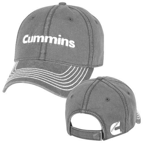 cummins-base-ball-cap-hat-diesel-gear-dodge-ram-logo-embroidered-gray