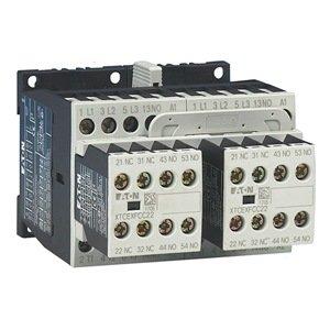 Iec Contactor, Rev, 120Vac, 9A, 2No/1Nc, 3P