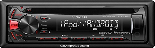 Kenwood KDC162 / KDC-162U / KDC-162U CD Receiver with Front USB & AUX Inputs автомагнитола kenwood kdc 151ry usb mp3 cd fm 1din 4х50вт черный