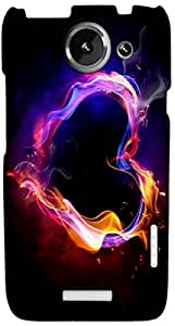 Timpax protective Armor Hard Bumper Back Case Cover. Multicolor printed on 3 Dimensional case with latest & finest graphic design art. Compatible with HTC one X+ ( Plus ) Design No : TDZ-27117