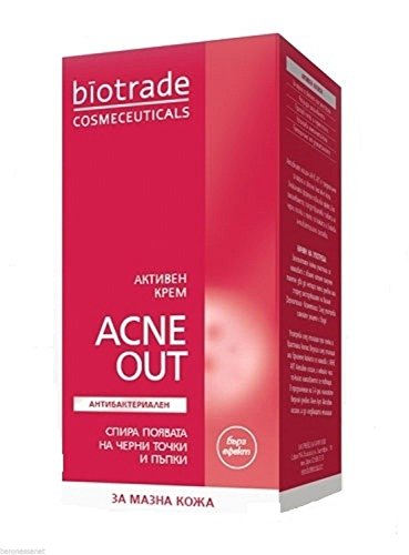 Biotrade Acne Out Active Cream 30ml Anti Acne Pimples Blackheads Whiteheads Budding Youth discount price 2016