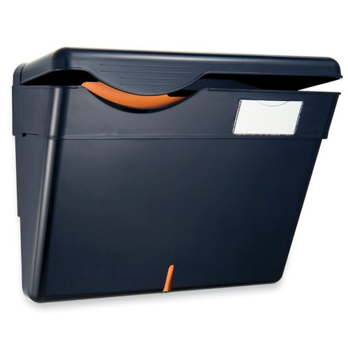 Officemate Security Wall File with Cover, Black, 1 File (21472) (Office Wall Cover compare prices)