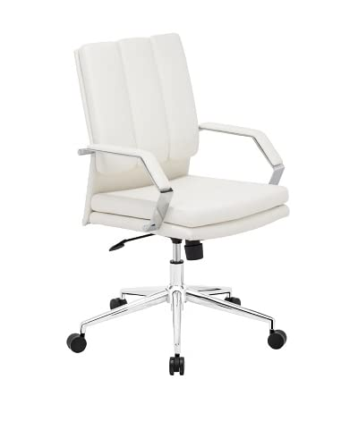 Zuo Director Pro Office Chair, White