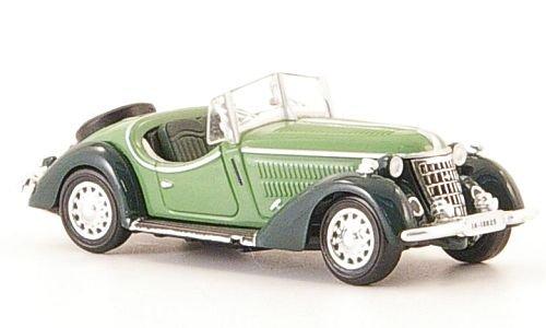 Wanderer-W25K-Roadster-grndkl-grn-1936-Modellauto-Fertigmodell-Ricko-187