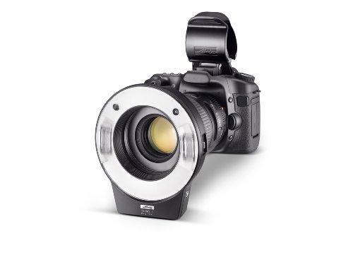 Metz-Mecablitz-15-MS-1-Digital-Flash-Anulare-per-CanonNikonOlympusPentaxSony-Aggiornabile-via-USB-Nero