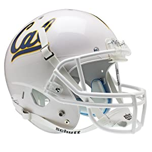 NCAA California Golden Bears Replica XP Helmet - Alternate 1 (White) by Schutt