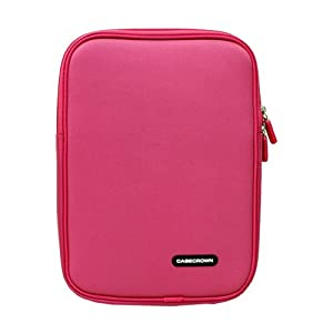 CaseCrown Double Memory Foam Neoprene Netbook Sleeve Case (Pink) for the Apple iPad