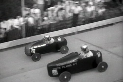 1934-35 All American Soap Box Derby Movie Films DVD