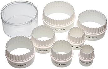 Kitchen Craft Lot de 7 emporte-pièces réversibles en plastique