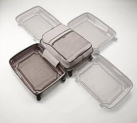 [プロテカ] Proteca 360LTD(サンロクマルリミテッド) スーツケース 55cm・44リットル・3.4kg TSAダイヤル錠 02517 11 (ポリッシュシルバー)