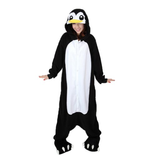 Penguin Onesie For Adults