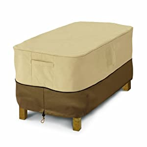 Classic Accessories Veranda by Classic Accessories 55-121-011501-00 Patio Coffee Table Cover, Rectangular by Classic Accessories
