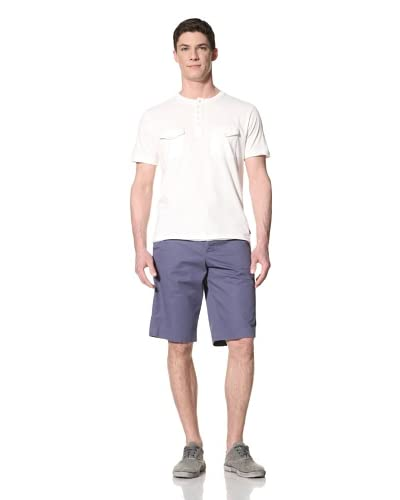 French Connection Men's Raw Surplus Crew Neck Shirt with Pockets