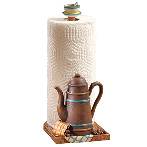 Coffee Pot Kitchen Paper Towel Holder (Coffee Cups Kitchen Decor compare prices)