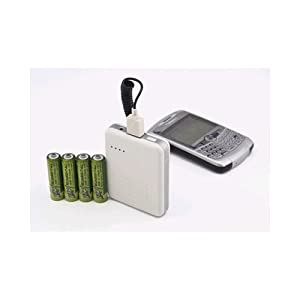 ZAP Portable Energy RX4AA AA Powerpack Universal Recharge-it-all! Battery