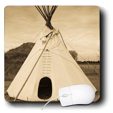 Mp_192214_1 Danita Delimont - Walter Bibikow - Native American - Usa, Nebraska, Stuhr Museum Of The Prairie Pioneer, Teepee. - Mouse Pads front-60759