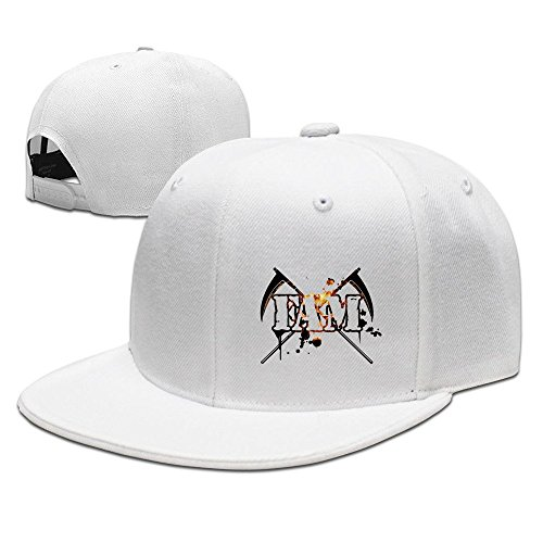 Unisex Funny Slag-Fam Cross Design Snapback Flat Cap Peak Fit Hat White (Sims 3 Supernatural Download compare prices)