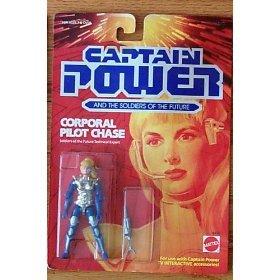 Buy Low Price Mattel Captain Power Corporal Pilot Chase Figure (B000B64B62)