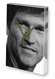 STEPHEN MOYER - Canvas Clock (LARGE A3 - Signed by the Artist) #js004