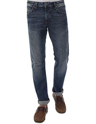 Bench - Jeans Snarev20, Blu Uomo, Blu (Midworn), (Taglia Produttore: 32/30)