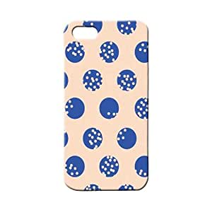 BLUEDIO Designer 3D Printed Back case cover for Apple Iphone 4 / 4S - G4251