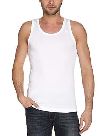 G-star - Débardeur - Homme - Blanc (White) - S - Lot de 2