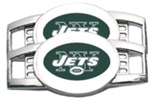 New York Jets NY Tennis Shoe Charm Set at Amazon.com