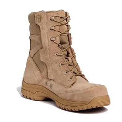 Tactical Research Paladin Side Zip Comp Toe Boot (11.5W, Desert Tan)